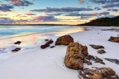 Bãi biển Hyams New South Wales